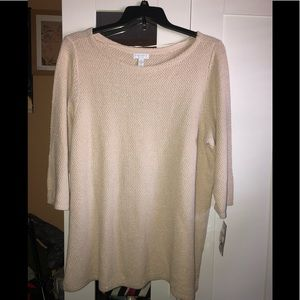 NWT CHARTER CLUB LIGHT WEIGHT SWEATER